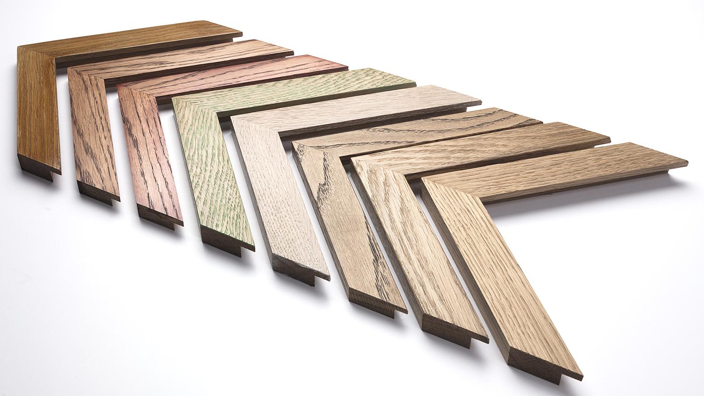 Oak 30mm x 15mm (raw wood on the right.)