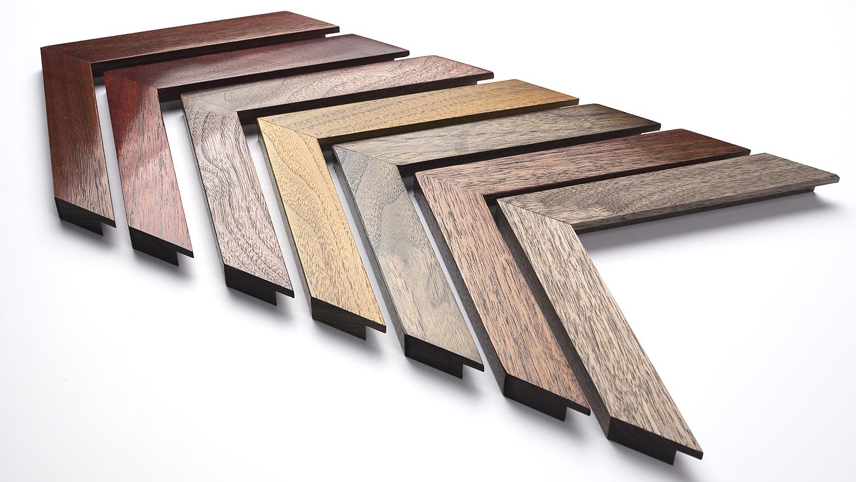 Walnut Frame 30mm x 17mm (raw wood on the right)