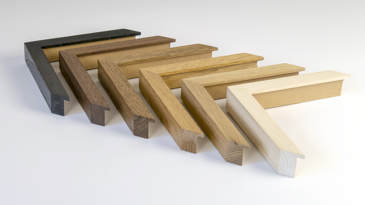 Assorted waxed woods 20mm x 30mm