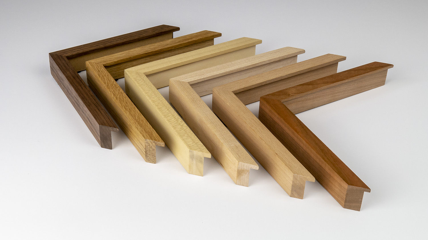 Assorted waxed woods 15mm x 30mm