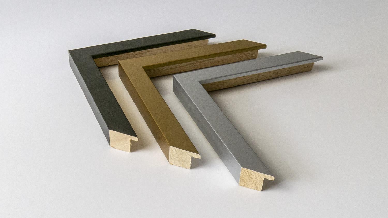 Metallic Gunmetal, Gold Metallic, Silver Metallic